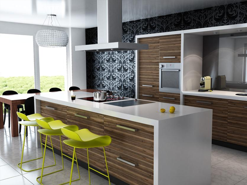 Modern Chair Design For Attractive Kitchen