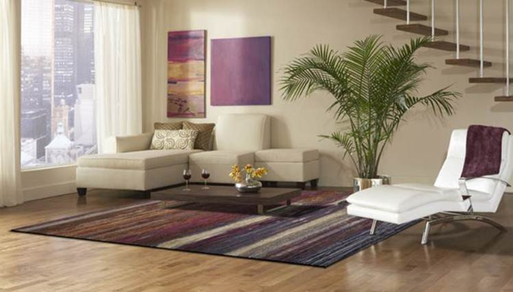 Modern Living Room Carpet Design Idea