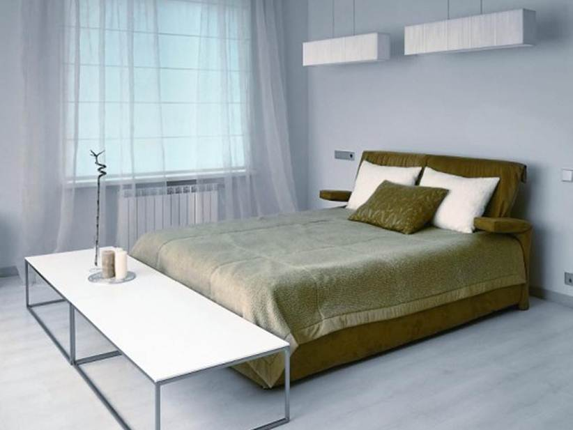 Modern Minimalist Bedroom Interior Decor