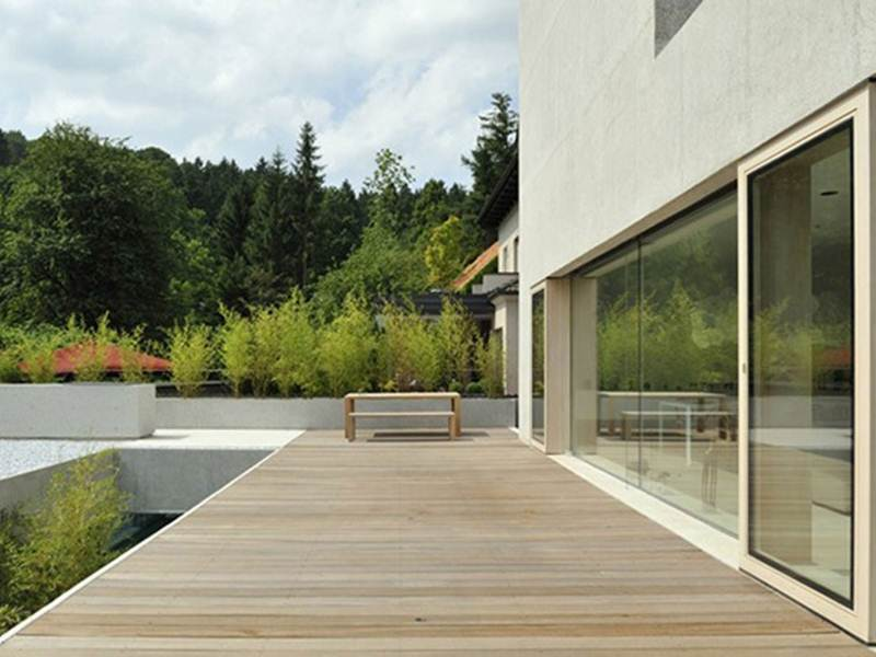 Modern Wooden Terrace For House Design