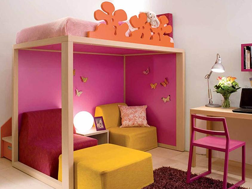 Nice Color Idea For Children Bedroom