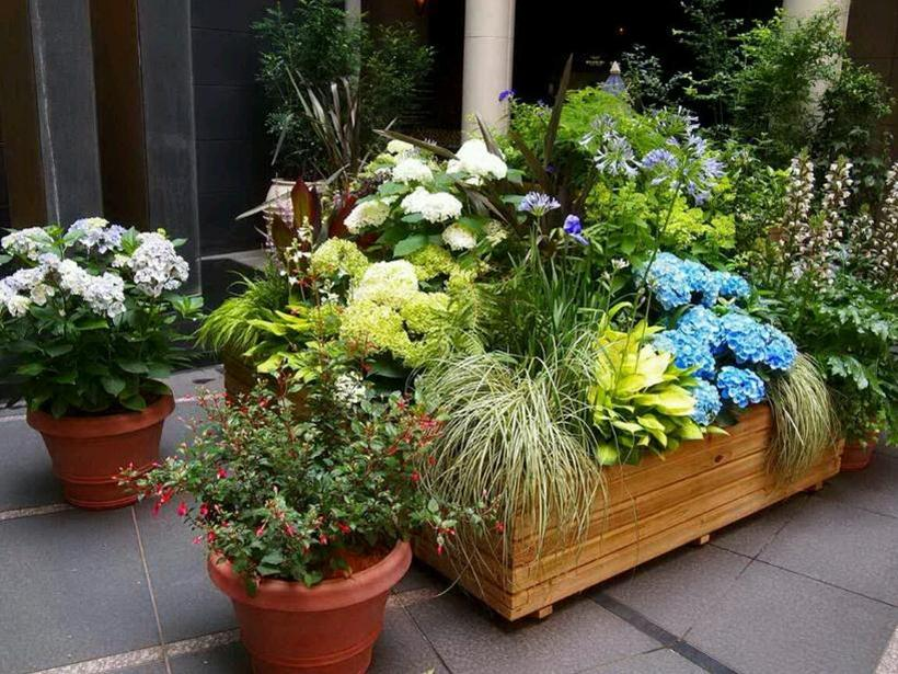 Nice Pot Idea To Decorate Home Garden