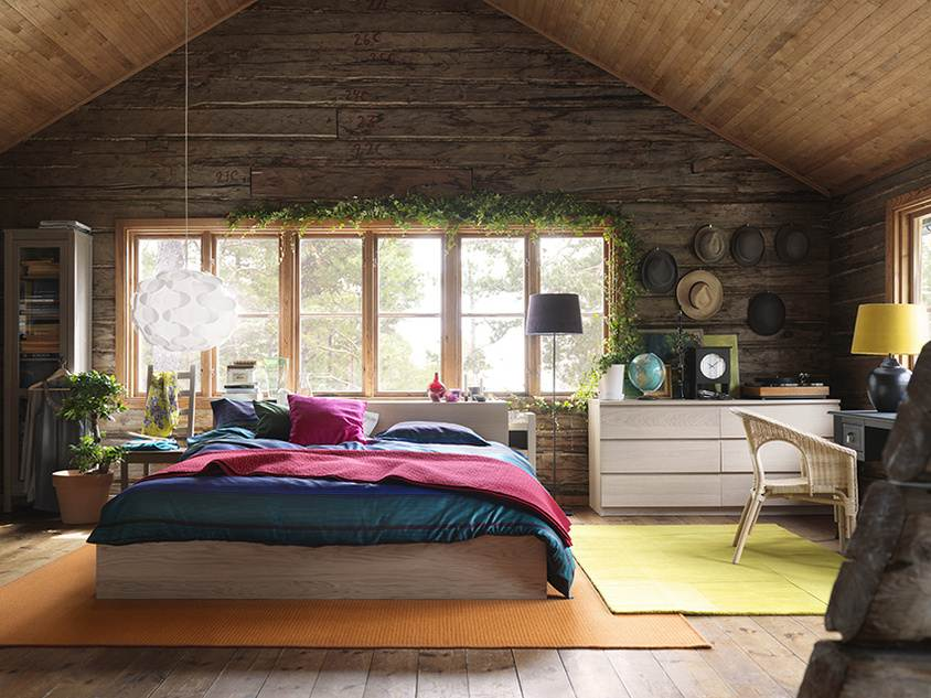 Nice Wooden Bedroom Interior Design