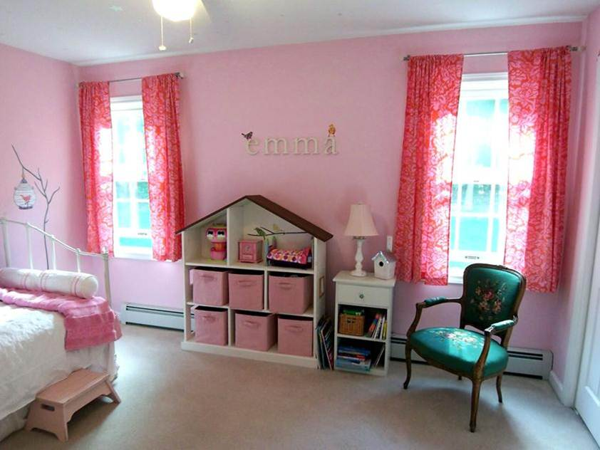 Paint Idea For Girls Bedroom Design