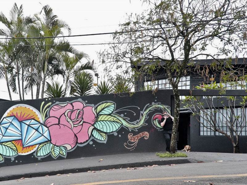 Paint Idea To Decorate House Fence