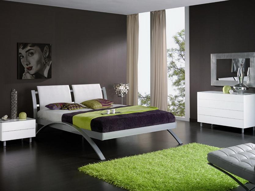 Bedroom Color Ideas 2014 Part - 15: Paint Idea To Make Bedroom Look Elegant