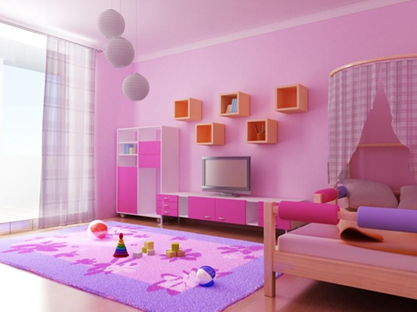 Awesome Popular Children Bedroom Decorating Idea