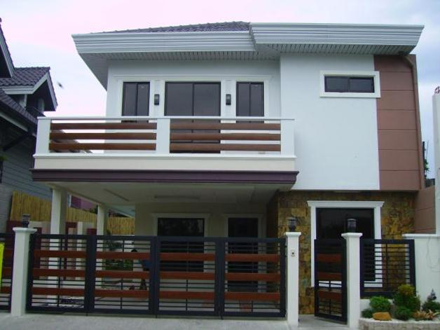 Simple 2 story minimalist house image 4 home ideas for Minimalist home designs philippines