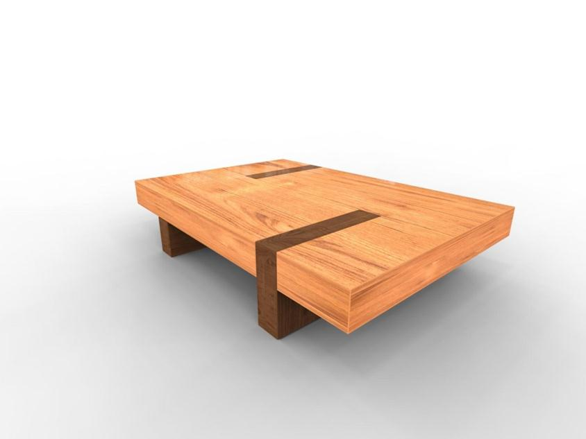 Simple Modern Coffee Table Model