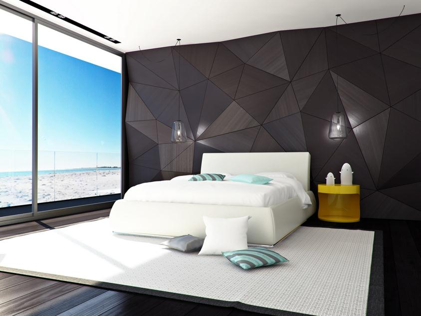 Tips Black White Modern Bedroom Design