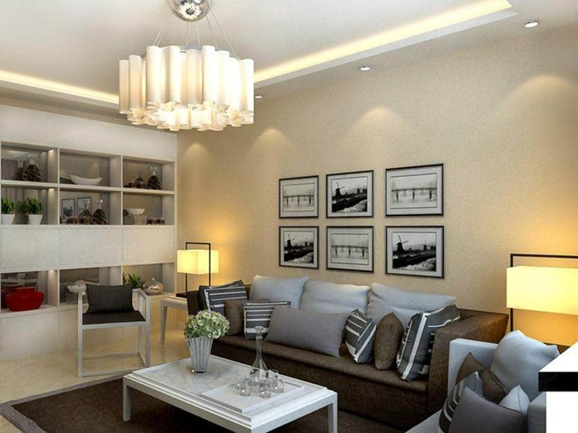 Tips To Decorate Living Room With Lamp