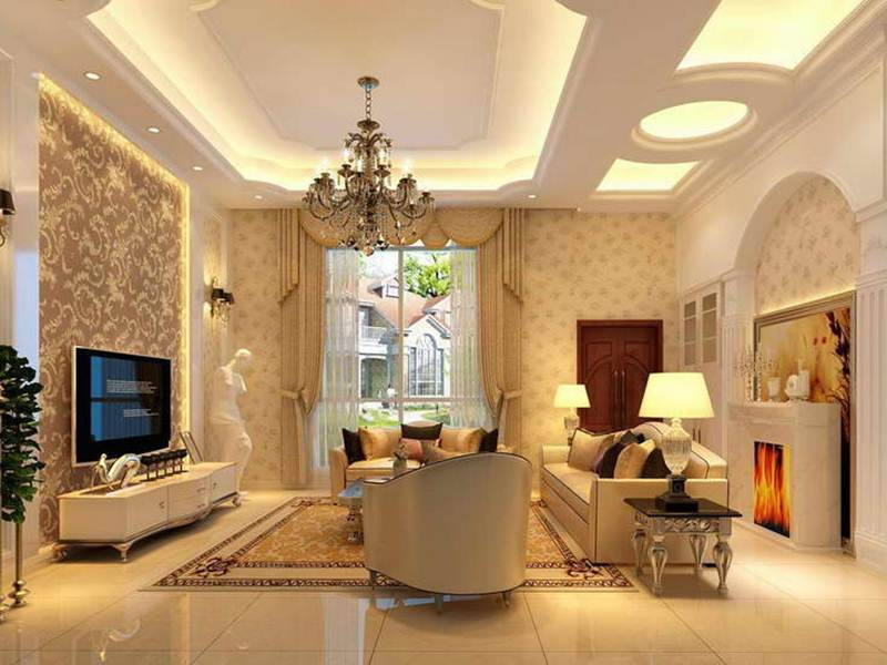 Top Luxury Gypsum Ceiling Design