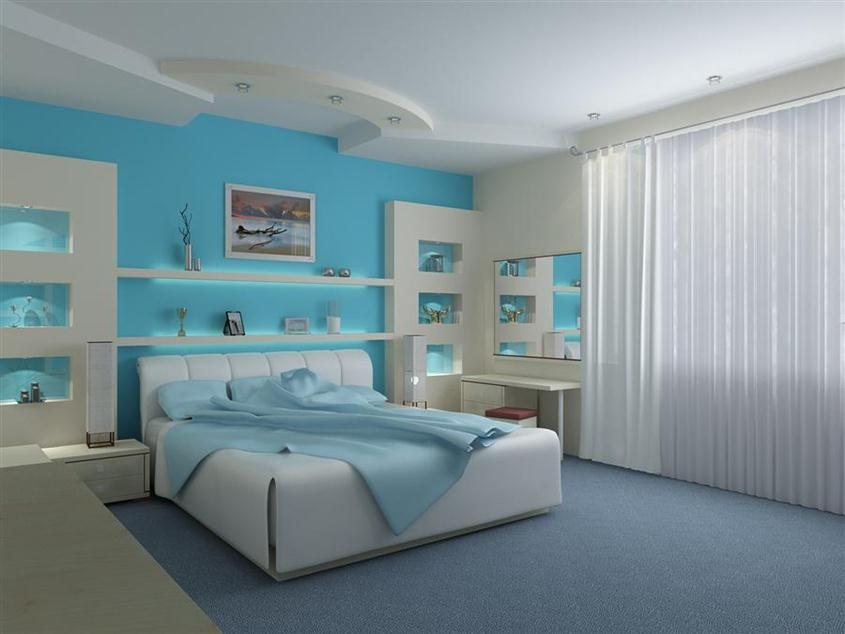 Trend Bedroom Paint Color Idea 2014
