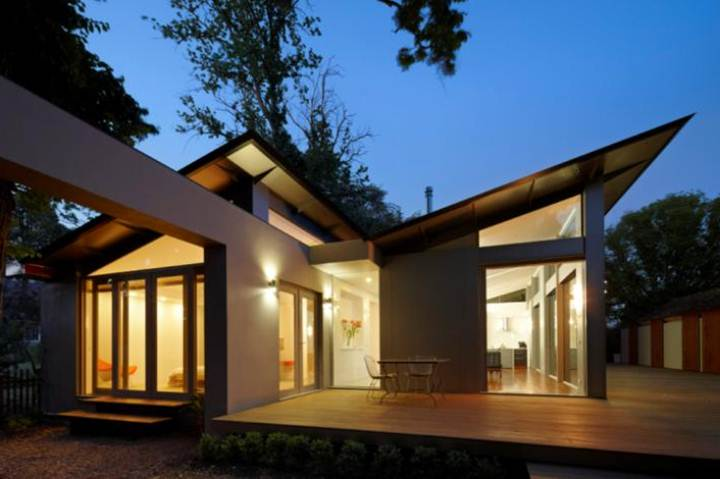Trend roof design for modern house 4 home ideas for Unique minimalist house