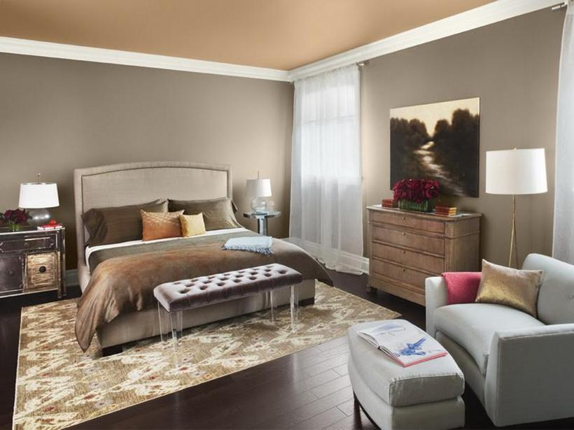 Trendy Bedroom Paint With Neutral Color