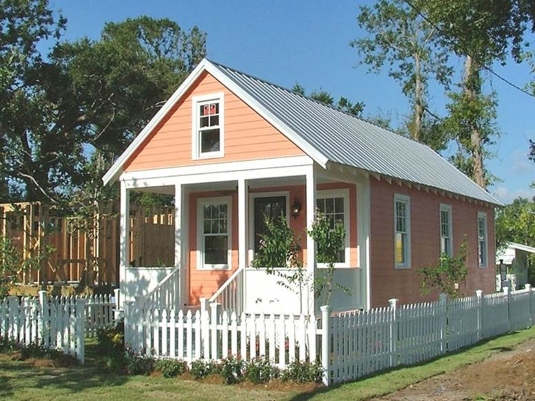 Trendy simple small house models 4 home ideas for Basic tiny house plans