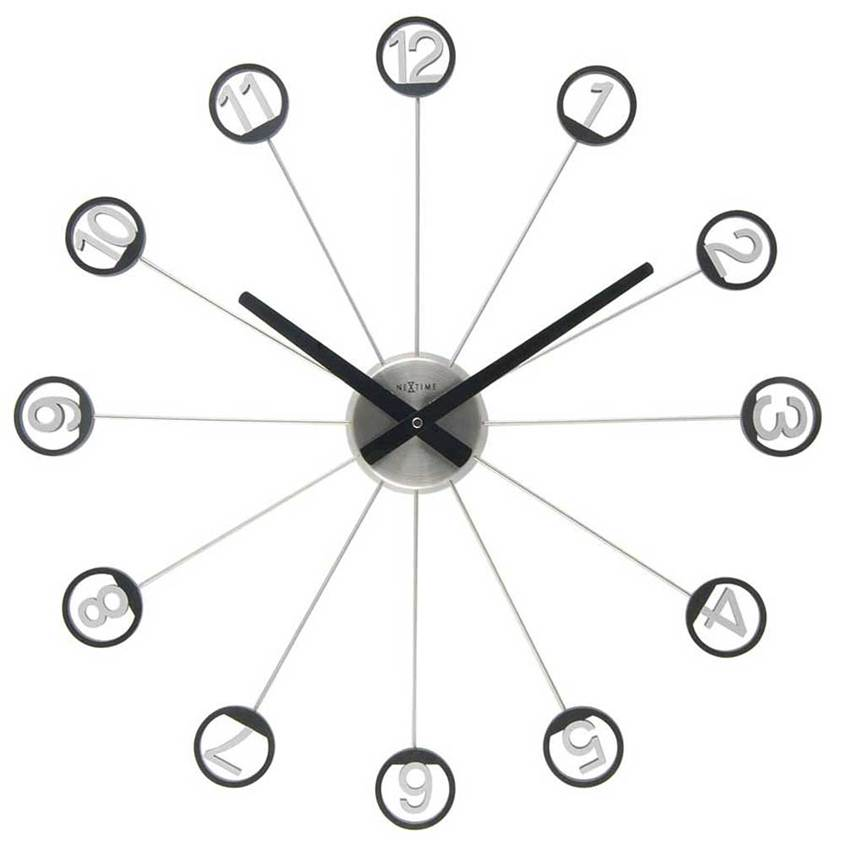 Unique Wall Clock Design Model - 4 Home Ideas