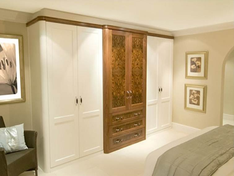 Wardrobe Design For White Bedroom