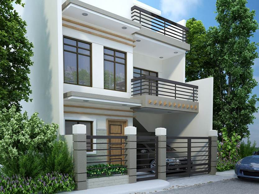 Modern Minimalist 2 Floor House Designs