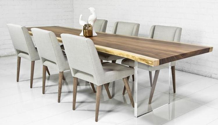 Wooden Table To Make Dining Room Elegant
