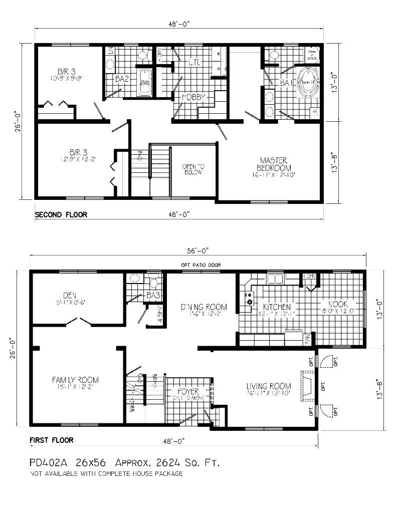 Charmant ... 2 Floor Home Plan For Urban Home