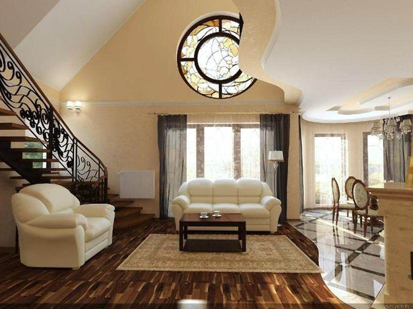 2 Floor House With Open Room Style