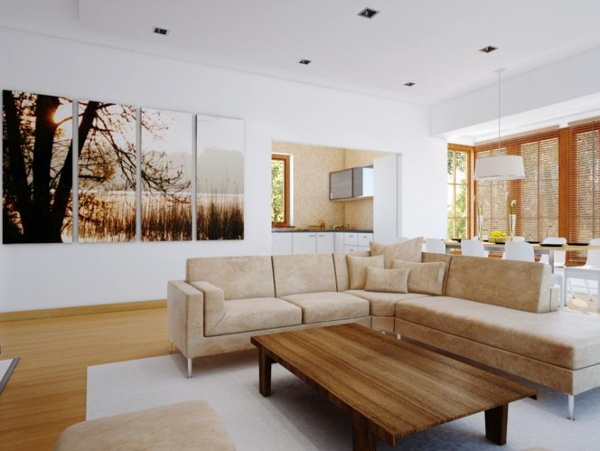 Admirable Living Room Art Design Idea