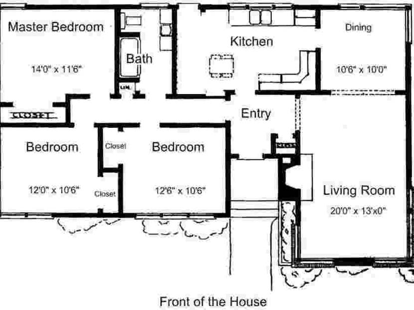 Affordable Home Plan Design Idea
