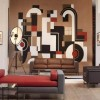 Attractive Family Room Wall Art Design