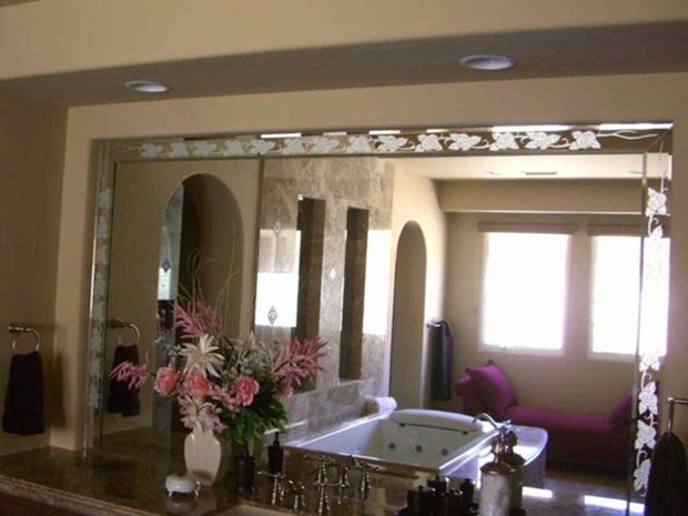 Beautiful Bathroom Mirror Design Model