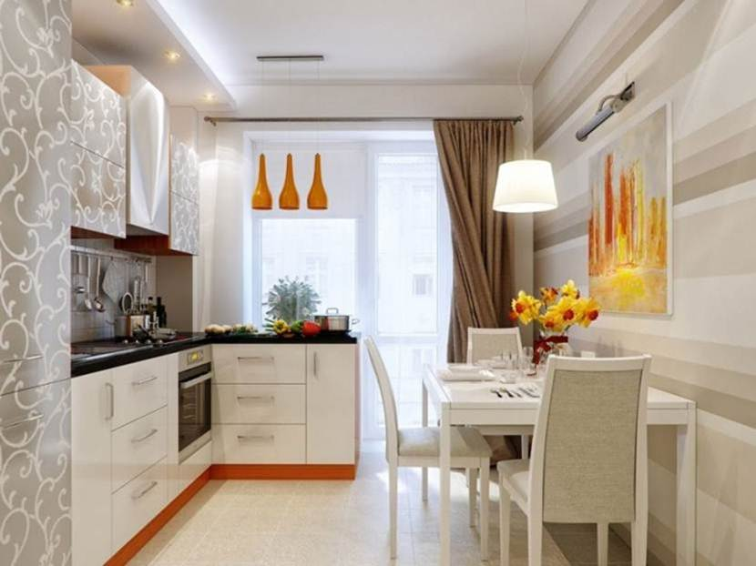 Beautiful White Kitchen Worktop Design