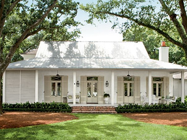 Beautiful White Southern Home Design