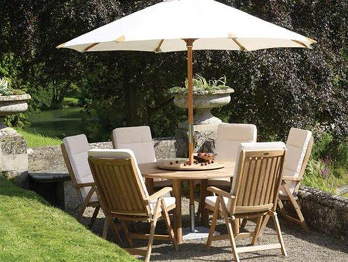 Beautify Small Garden With Teak Furniture