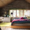 Bedroom Design Idea For Wooden House