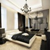 Black And White Luxury Bedroom Color