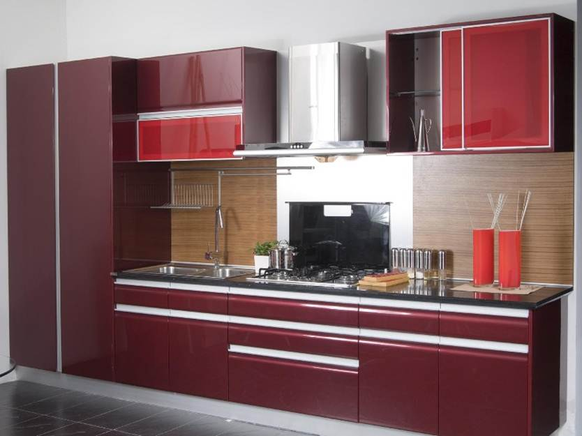 Cabinet Color Idea For Minimalist Kitchen