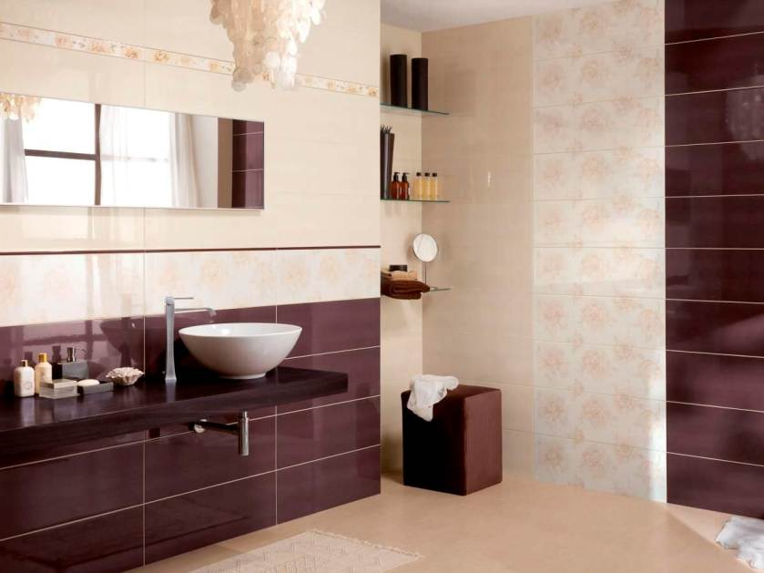 Ceramic Design To Make Elegant Bathroom