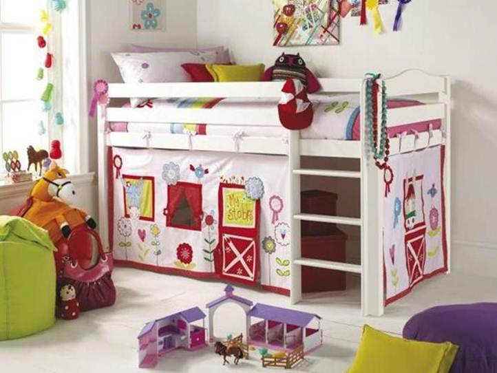 Colorful Kid Furniture For Baby Nursery