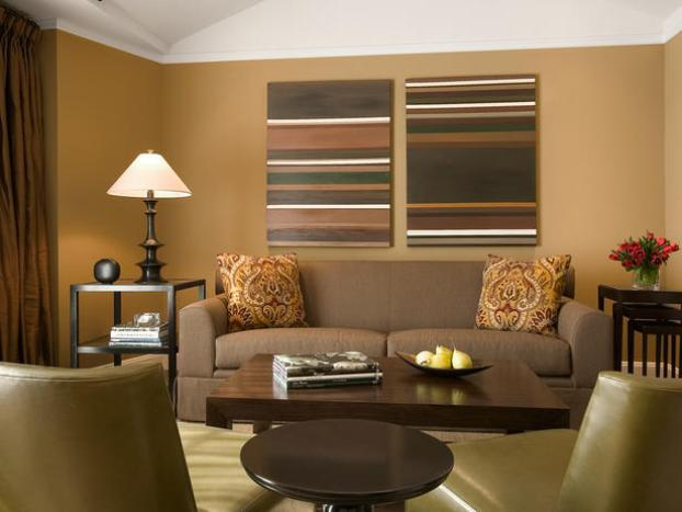 DIY Living Room Paint Color Combination