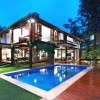 Decorating Idea For Tropical Wooden House
