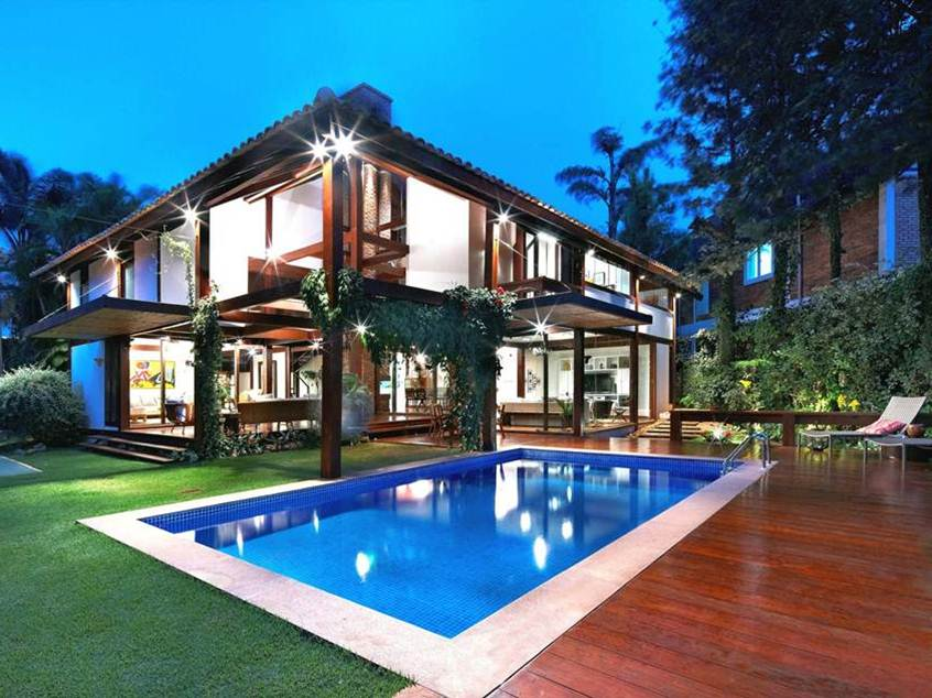 Tropical home design for minimalist wooden house 4 home for Dream wooden house
