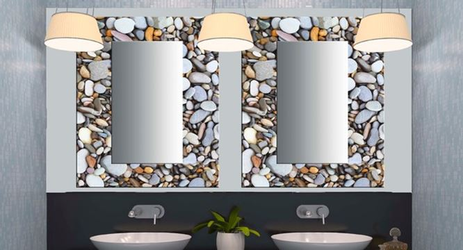 Decorative Bathroom Mirror Design Idea