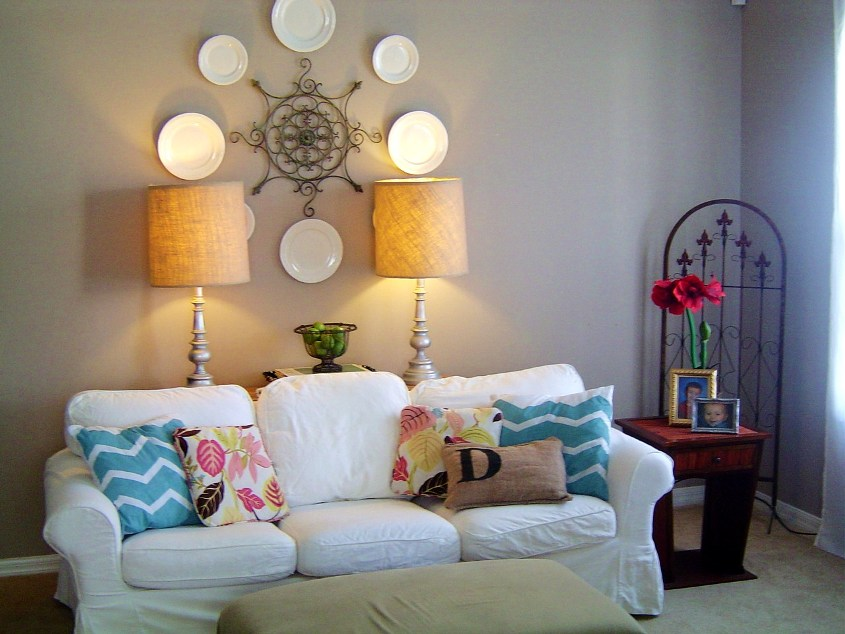 diy living room ideas amazing walls decorating do it yourself