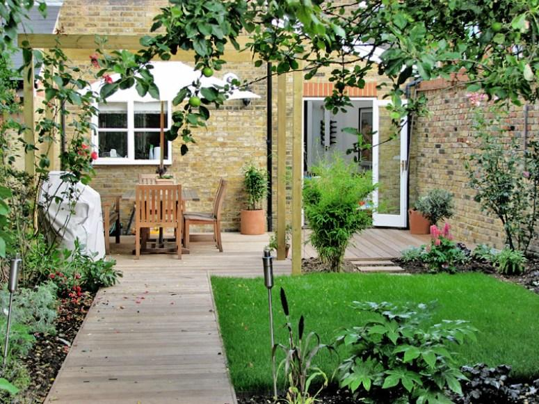 Decorative Terrace Garden For Front House