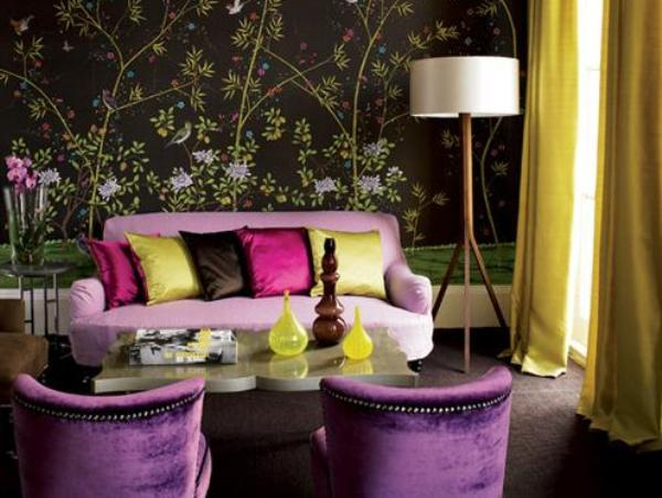 Decorative Wallpaper Design For Living Room Art