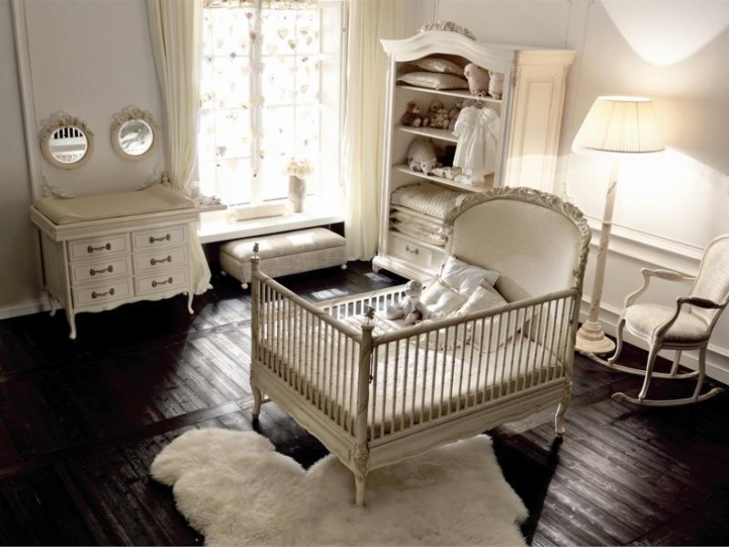 Elegant Baby Bedroom With Kids Furniture
