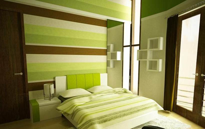 Green Paint Idea For Home Interior - 4 Home Ideas