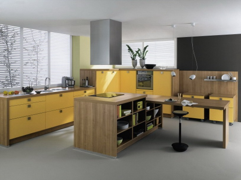 Furniture Color Idea For Modular Kitchen