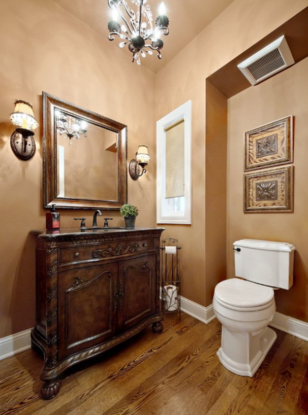 Furniture Design For Small Western Bathroom