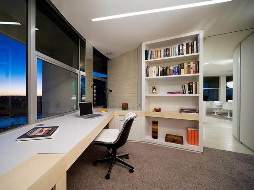 Office Furniture: Affordable Home Decor For Minimalist Office Interior